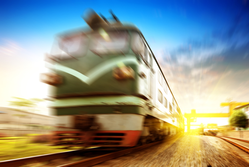 train impact